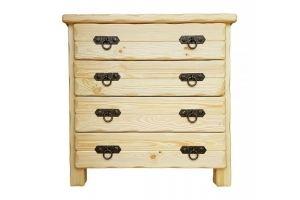 Комод деревянный Барин 2 лак прозрачный - Мебельная фабрика «Кедр-М»