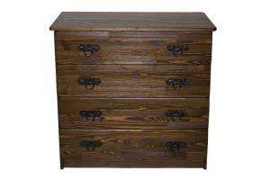 Комод деревянный Русич зеленый орех - Мебельная фабрика «Кедр-М»