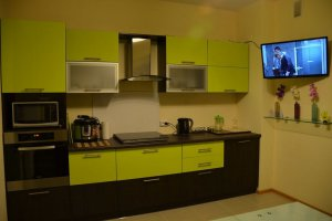 Компактная прямая кухня - Мебельная фабрика «C&K»
