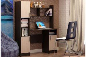 Компьютерный стол 2 венге/белфорд - Мебельная фабрика «CASE»