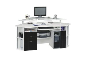 Угловой компьютерный стол 33 - Мебельная фабрика «Фиеста-мебель»