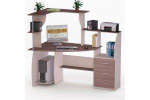 Угловой компьютерный стол 70 - Мебельная фабрика «Фиеста-мебель»