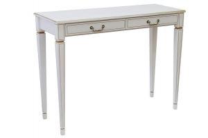 КОНСОЛЬ ВАСКО В 91Н белый ясень/золото - Мебельная фабрика «Мебелик»