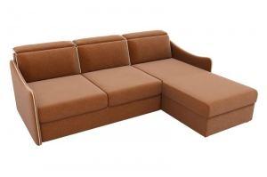 Коричневый диван Скарлетт рогожка - Мебельная фабрика «Мебелико»