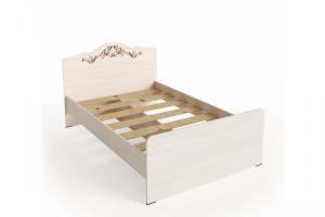 Односпальная  кровать КР-03/1 1200*1900 - Мебельная фабрика «Милайн»