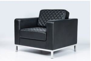 Кресло Бентли Хром экокожа - Мебельная фабрика «Диван Хаус»