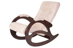 Кресло-качалка Тенария 1 замша - Мебельная фабрика «Мебелик»