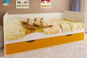 Кровать в детскую комнату 6 - Мебельная фабрика «Рестайл»