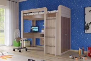 Детская кровать чердак Степ - Мебельная фабрика «Гранд Кволити»