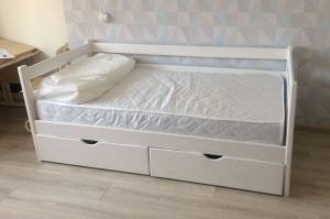 Кровать с ящиками Соня 7 - Мебельная фабрика «Массив»