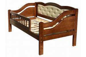 Кровать детская Принцесса с ограждением - Мебельная фабрика «Егорьевск»