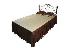 Кровать двойная металлическая Сандра-1200 - Мебельная фабрика «Металл Конструкция»