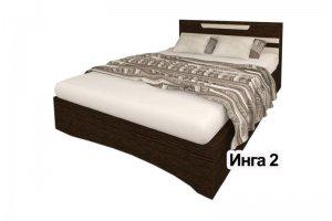 Кровать спальная Инга 2 - Мебельная фабрика «А-Элита»