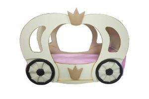 Кровать Карета для принцессы - Мебельная фабрика «ПРАВДА-МЕБЕЛЬ»