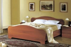 Кровать ЛДСП Алиса - Мебельная фабрика «Русон»