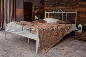 Кровать металлическая Оливия 1 - Мебельная фабрика «Francesco Rossi»