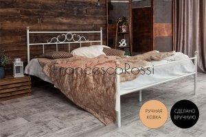 Кровать металлическая Сандра 1 - Мебельная фабрика «Francesco Rossi»