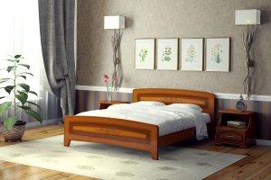 Кровать Милана - Мебельная фабрика «DM - DarinaMebel»