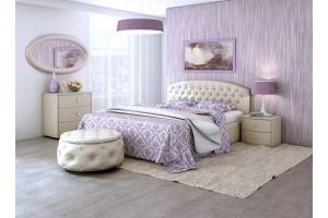 Кровать Пальмира с полукруглой спинкой - Мебельная фабрика «Архитектория», г. Тольятти