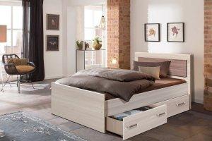 Кровать Парма с ящиками - Мебельная фабрика «Олимп»