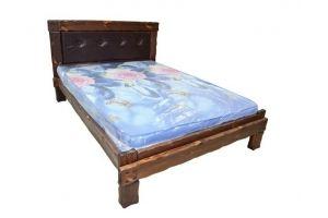 Кровать с мягким изголовьем Купец - Мебельная фабрика «Кедр-М»