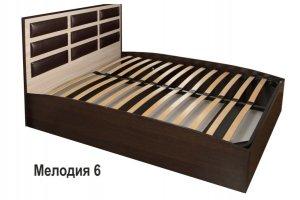 Кровать с подъемным механизмом Мелодия 6 - Мебельная фабрика «А-Элита»