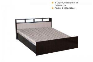 Кровать Троя венге - Мебельная фабрика «ДОСТО»