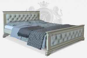 Кровать Виченца 3 мягкое изголовье - Мебельная фабрика «Каприз»