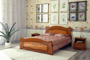 Кровать Жизель - Мебельная фабрика «DM - DarinaMebel»