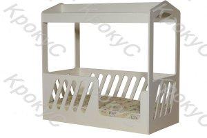 Кроватка Домик - Мебельная фабрика «Крокус»