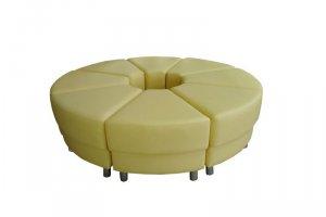 Круглый модульный диван - Мебельная фабрика «Правильная мебель»