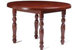 Круглый раздвижной стол из бука Ф1200/1600 - Мебельная фабрика «Майя»