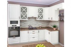 Кухня белая эмаль Гранада - Мебельная фабрика «Корфил»