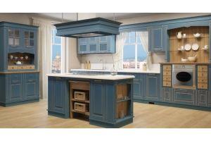 Кухня Фелиция (массив) - Мебельная фабрика «Молчанов»