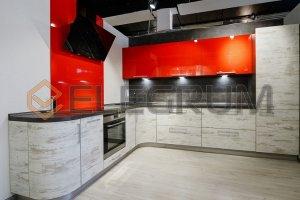 Кухня Fusion F 12 - Мебельная фабрика «ELEGRUM»