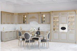 Кухня Giovanni Rossi - Мебельная фабрика «ViVakitchen»