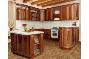 Кухня массив березы Палермо - Мебельная фабрика «Корфил»