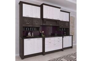 Кухня Melbourne белый декапе - Мебельная фабрика «ViVakitchen»