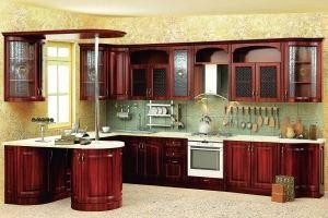 Модульная Кухня Нова 4 Орех кашир - Мебельная фабрика «Кубань-Мебель»
