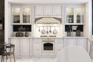 Кухня прямая Одетта - Мебельная фабрика «Ренессанс»
