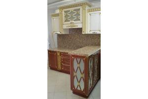Кухня Патина Карина с колоннами - Мебельная фабрика «C&K»