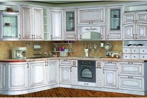 Кухня Прага 2000х3200 Белый Ясень - Мебельная фабрика «Кубань-мебель»
