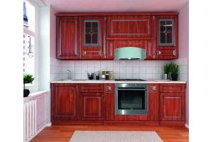 Модульная Кухня Прага 240 Орех - Мебельная фабрика «Кубань-Мебель»