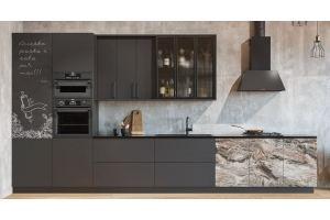 Кухня прямая Norma - Мебельная фабрика «ViVakitchen»