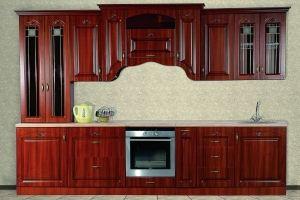 Кухня Сабрина L3200 Орех - Мебельная фабрика «Кубань-Мебель»