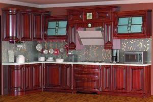 Модульная Кухня Сан-Марино, орех 1700х3600 - Мебельная фабрика «Кубань-мебель»