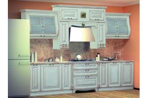 Модульная Кухня Сан-Марино 3300 Эмаль Крем - Мебельная фабрика «Кубань-Мебель»
