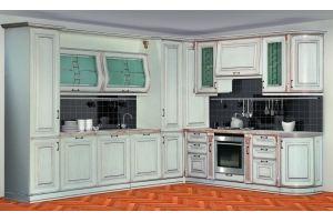 Кухня Сан-Марино 3300х2900 Эмаль Крем - Мебельная фабрика «Кубань-Мебель»