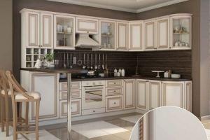 Кухня угловая Шик - Мебельная фабрика «Ренессанс»
