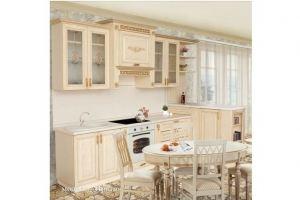 Кухня шпон ясеня Прага - Мебельная фабрика «Корфил»